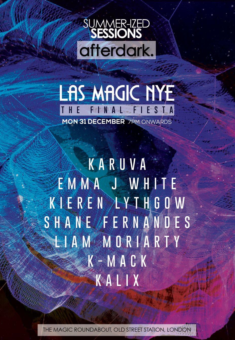 RA: Las Magic NYE at The Magic Roundabout, London (2018)