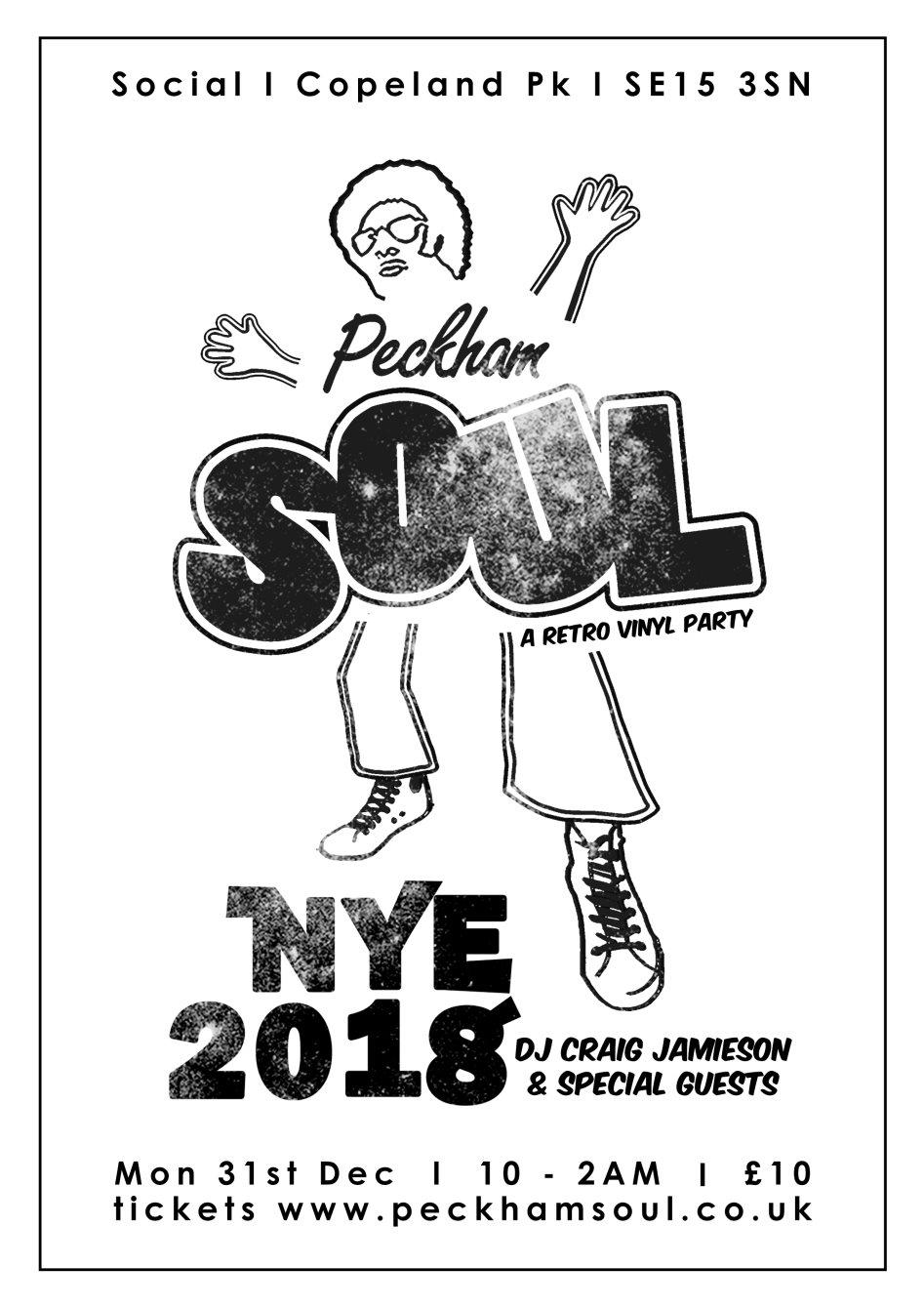 Peckham Soul NYE 2018
