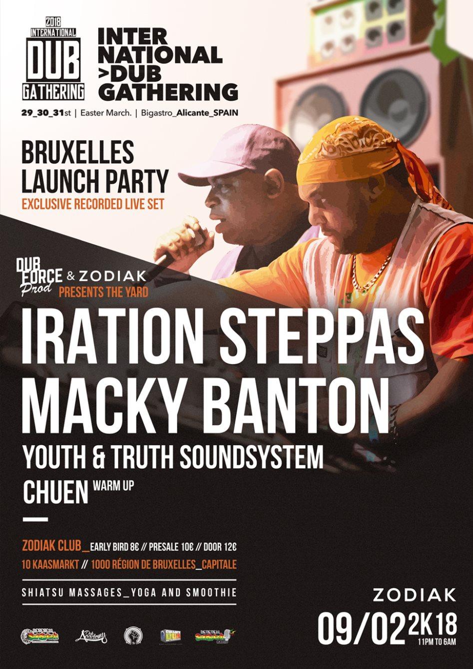 Ra The Yard 3 Iration Steppas Meets Macky Banton At Zodiak
