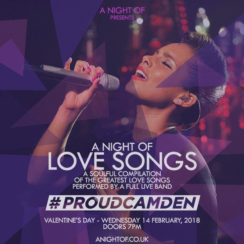 RA: A Night of Love Songs at Fest Camden, London (2018)