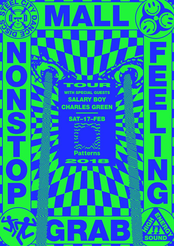 RA Patterns Invites Mall Grab's 'Non Stop Feeling Tour' With Salary Stunning Boy Patterns