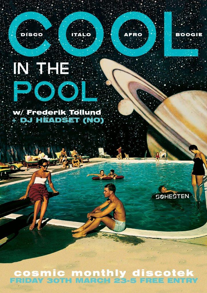 RA: Cool In The Pool with DJ Headset at Søhesten, Copenhagen