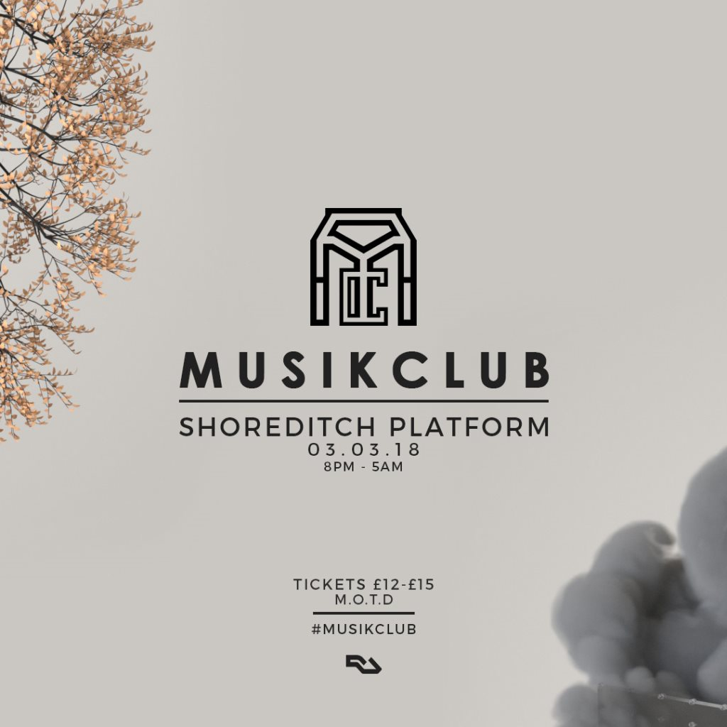 RA: Musik Club presents Cozzy D & Jnr Windross at Shoreditch ...