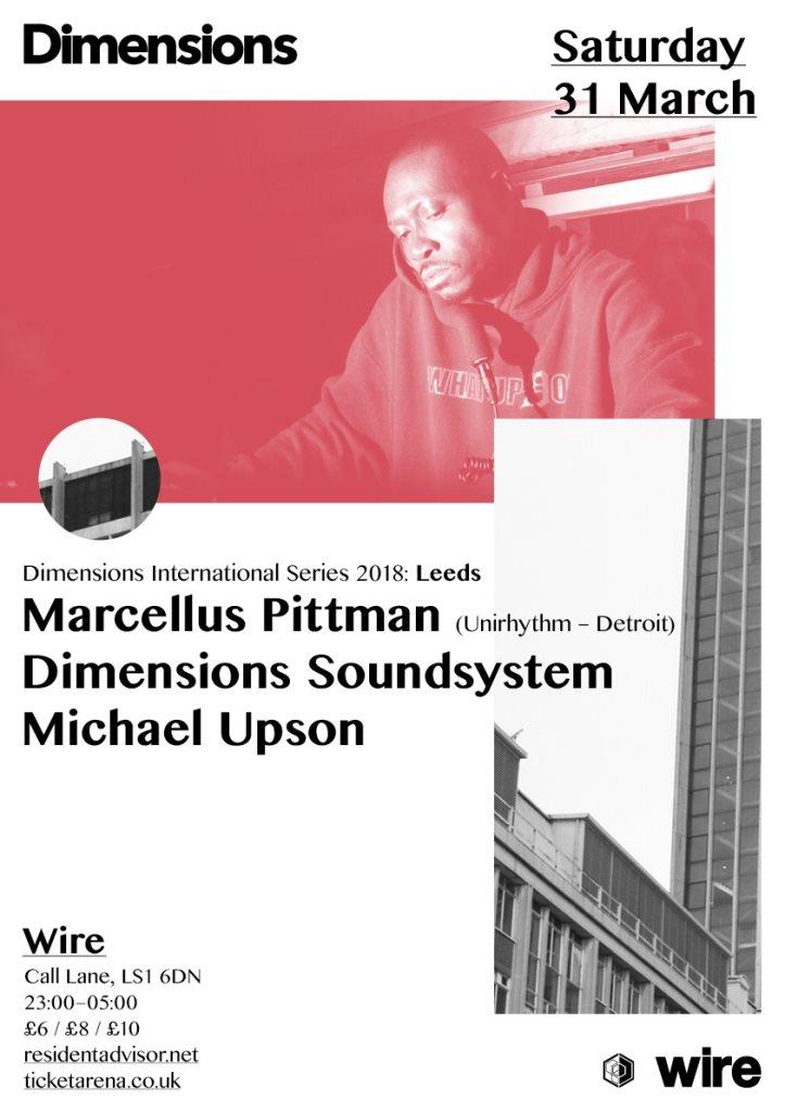 RA: Dimensions - Marcellus Pittman, Dimensions Soundsystem & Michael ...