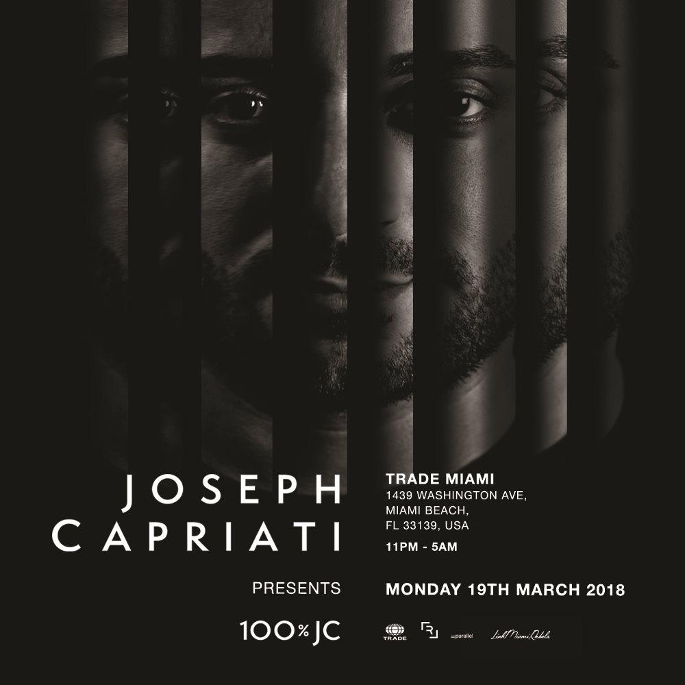 Ra Joseph Capriati Presents 100 Jc By Link Miami Rebels At Trade Miami 2018