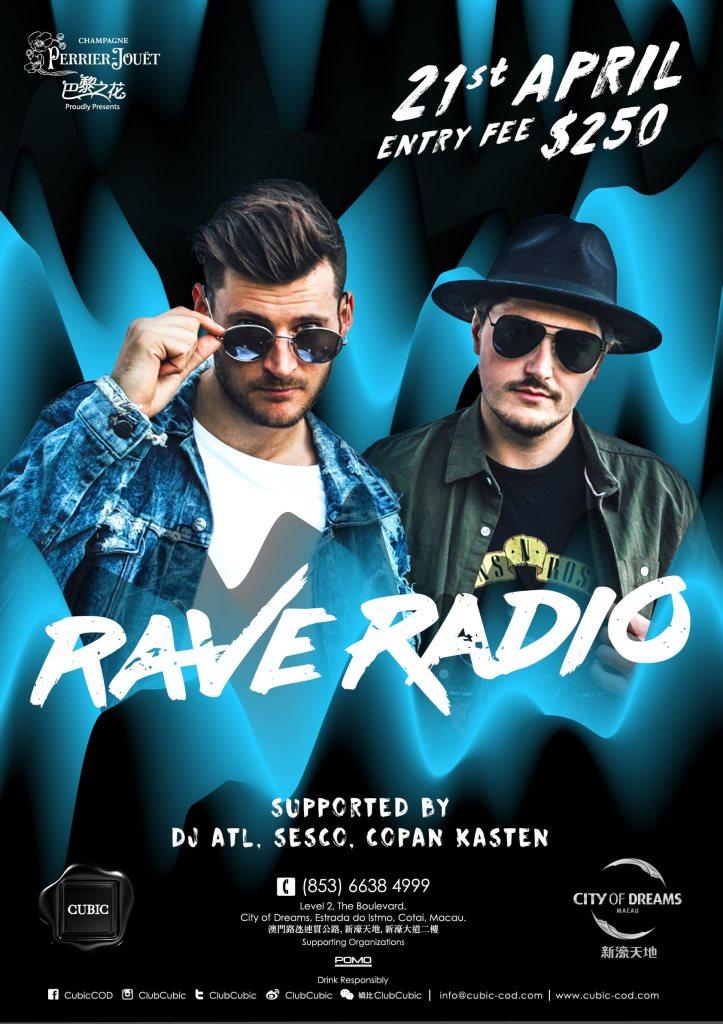 RA: Club Cubic presents Rave Radio at Cubic, Macau (2018)