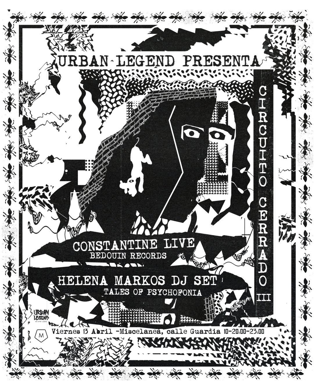Circuito Cerrado : Ra circuito cerrado iii constantine live helena markos dj set at