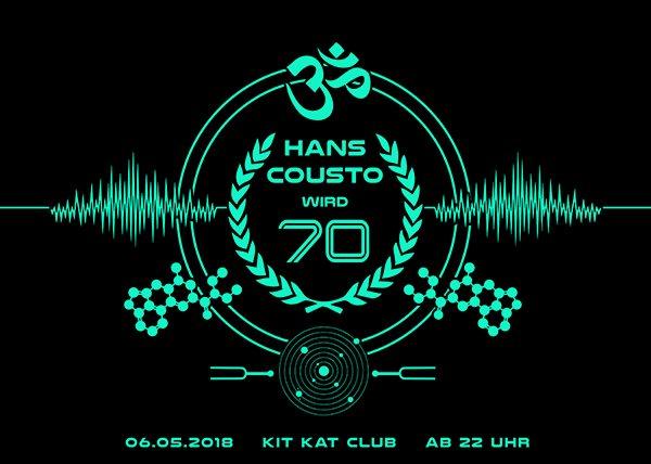 Ra Hans Cousto Wird 70 At Kitkatclub Berlin 2018