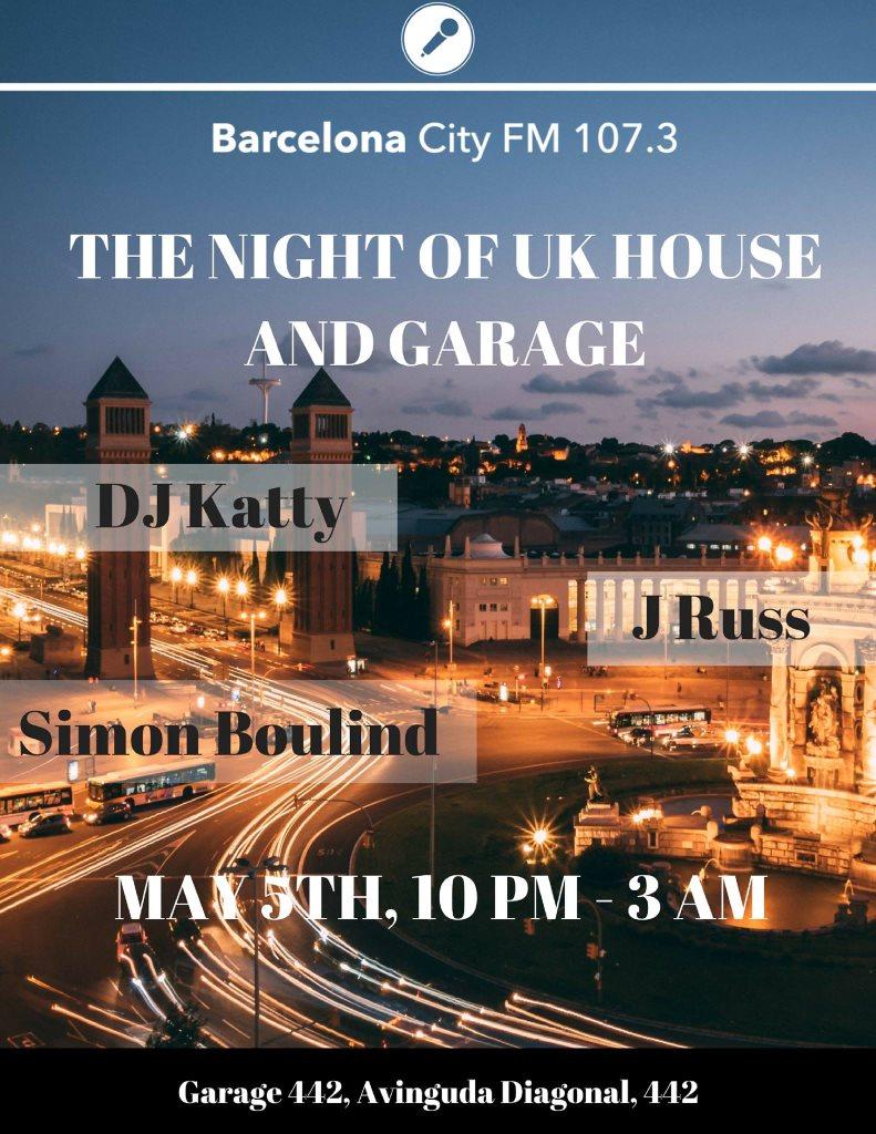 RA: The Night of UK House and Garage at Garage 442