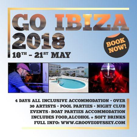 bb1ba0903 RA  Groove Odyssey Ibiza Weekender 2018 at The Beach Star Hotel ...