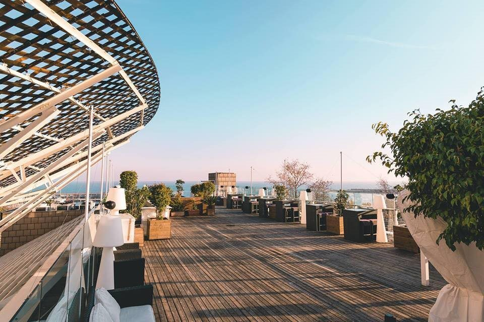 Ra Open Air Barcelona Elektronic Rooftop Party At Catwalk
