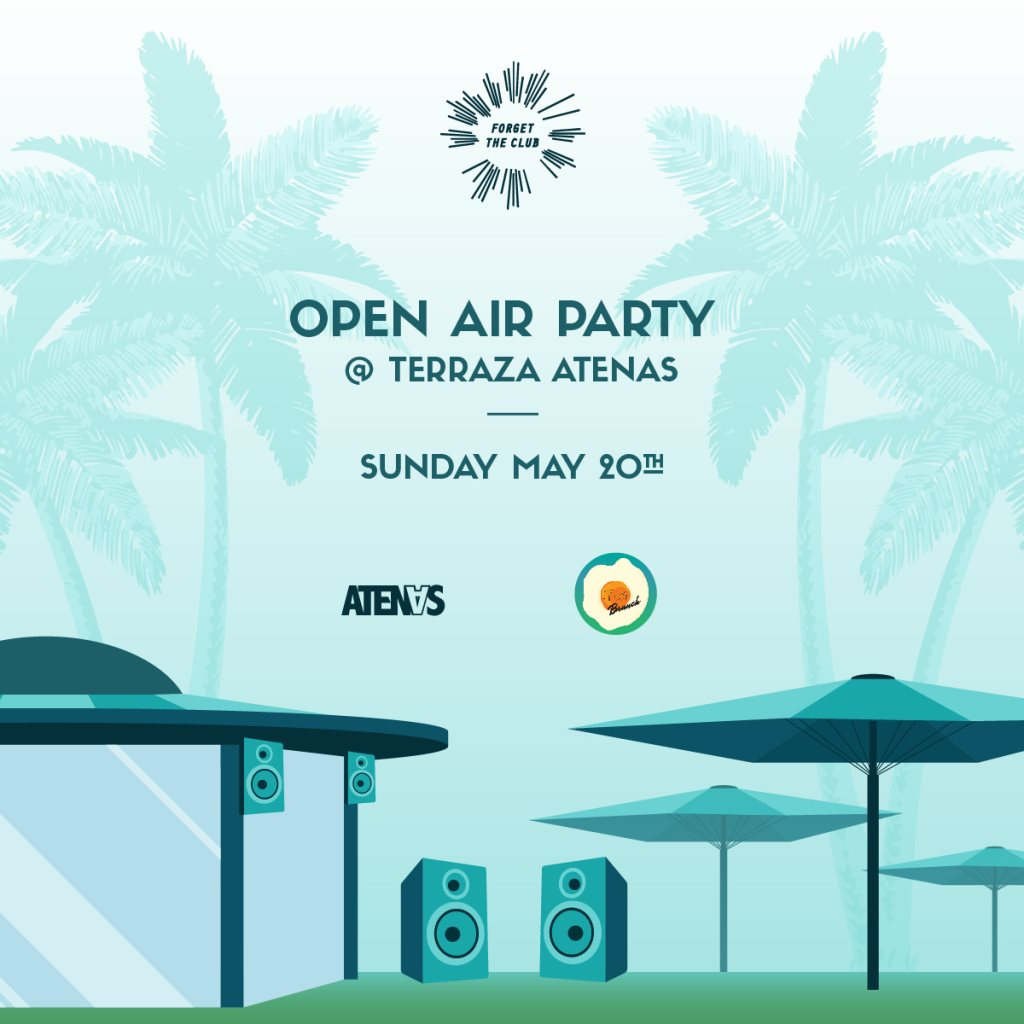Ra After Brunch Open Air Party At Terraza Atenas Madrid 2018