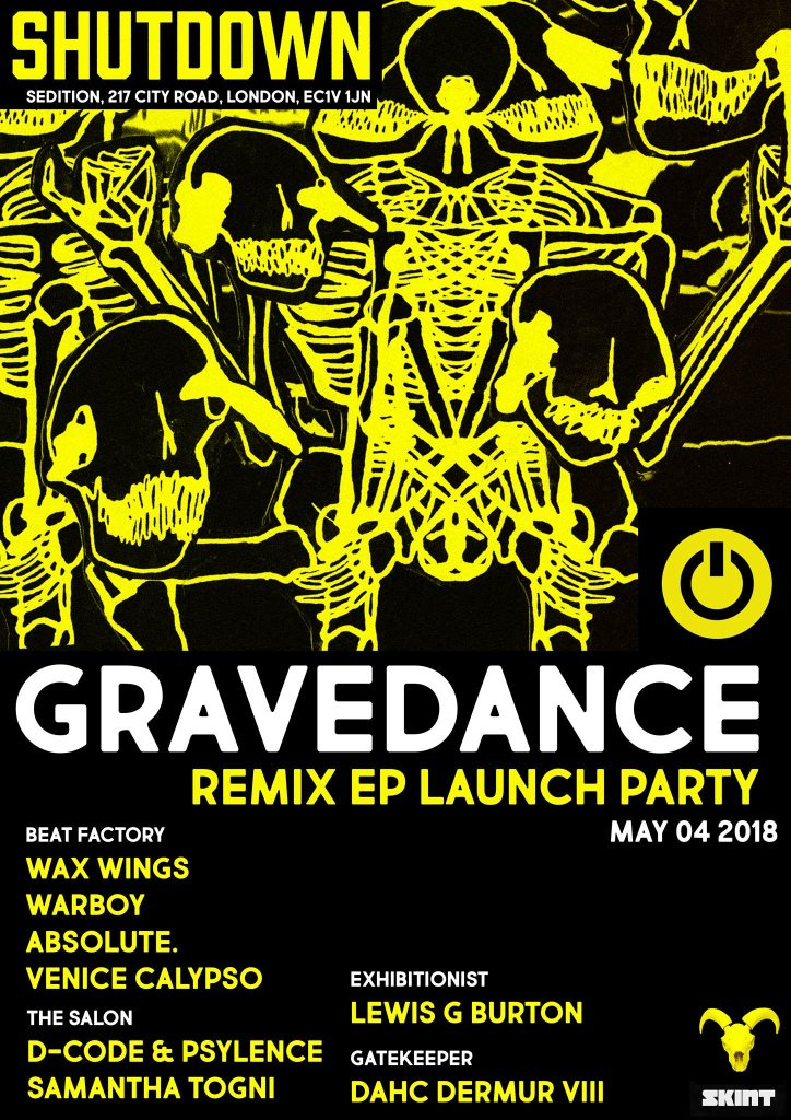 RA: Shutdown: Wax Wings Release Party at Sedition, London (2018)