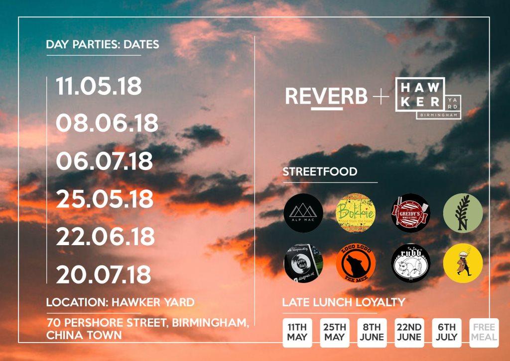 RA: Reverb x Hawrker Yard - Day Parties at Hawker Yard