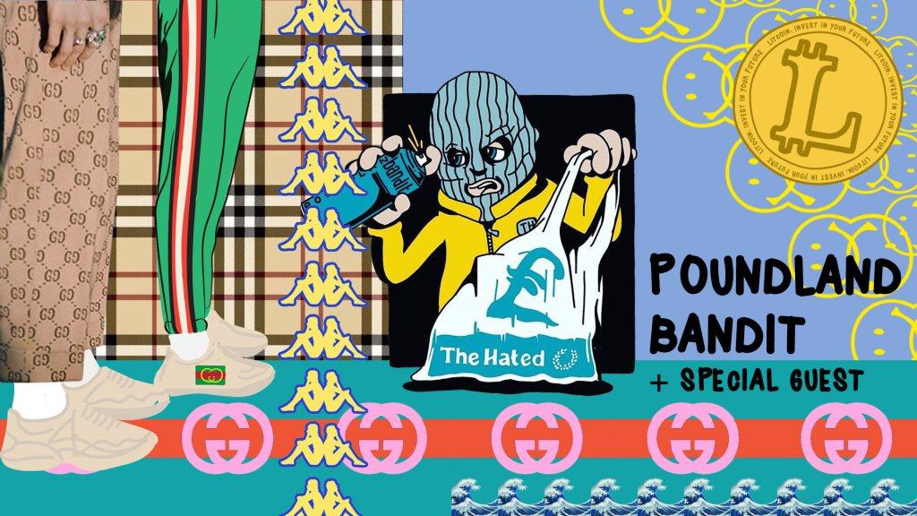 Ra Litcoin Presents Clubnight Poundland Bandit Meme Exhibition