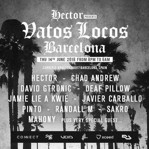 Ra Vatos Locos Off Week Barcelona At Oops Mansion Barcelona 2018