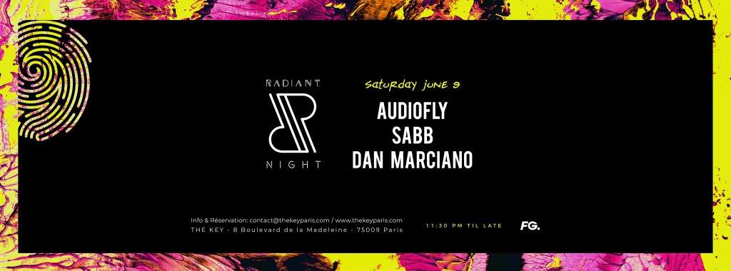 RA: The Key x Radiant  Night: Audiofly, Sabb, Dan Marciano