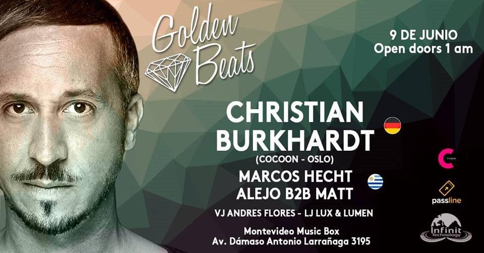 RA: Golden Beats presenta: Christian Burkhardt (Oslo/Cocoon) at ...