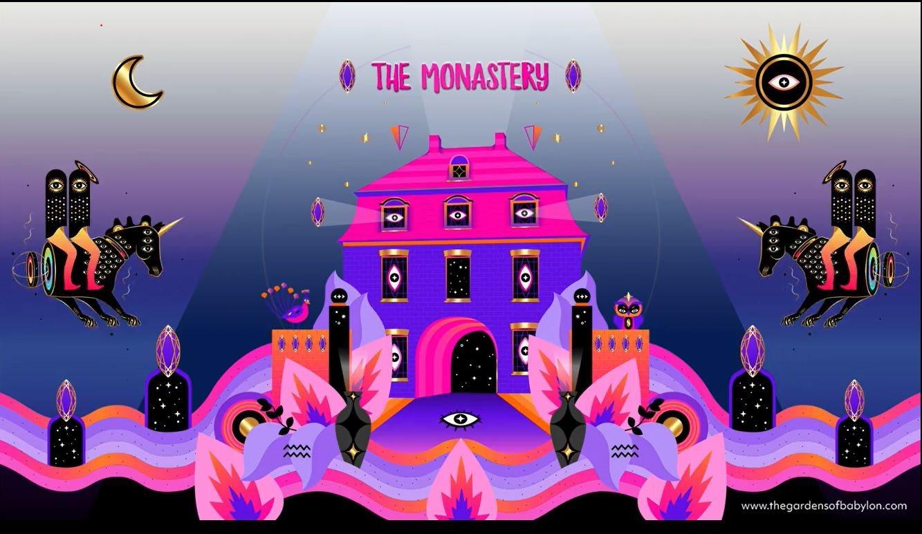 Ra The Gardens Of Babylon The Monastery Three Neverending Nights
