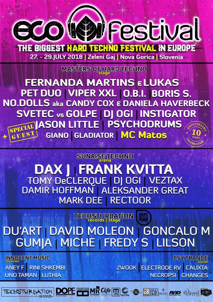 festival techno 2018