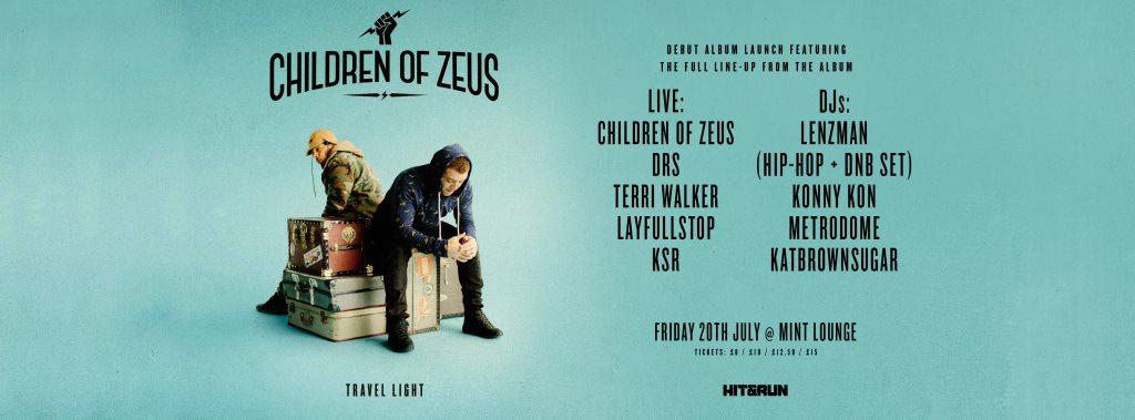 Ra Children Of Zeus Album Launch At Mint Lounge Manchester 2018