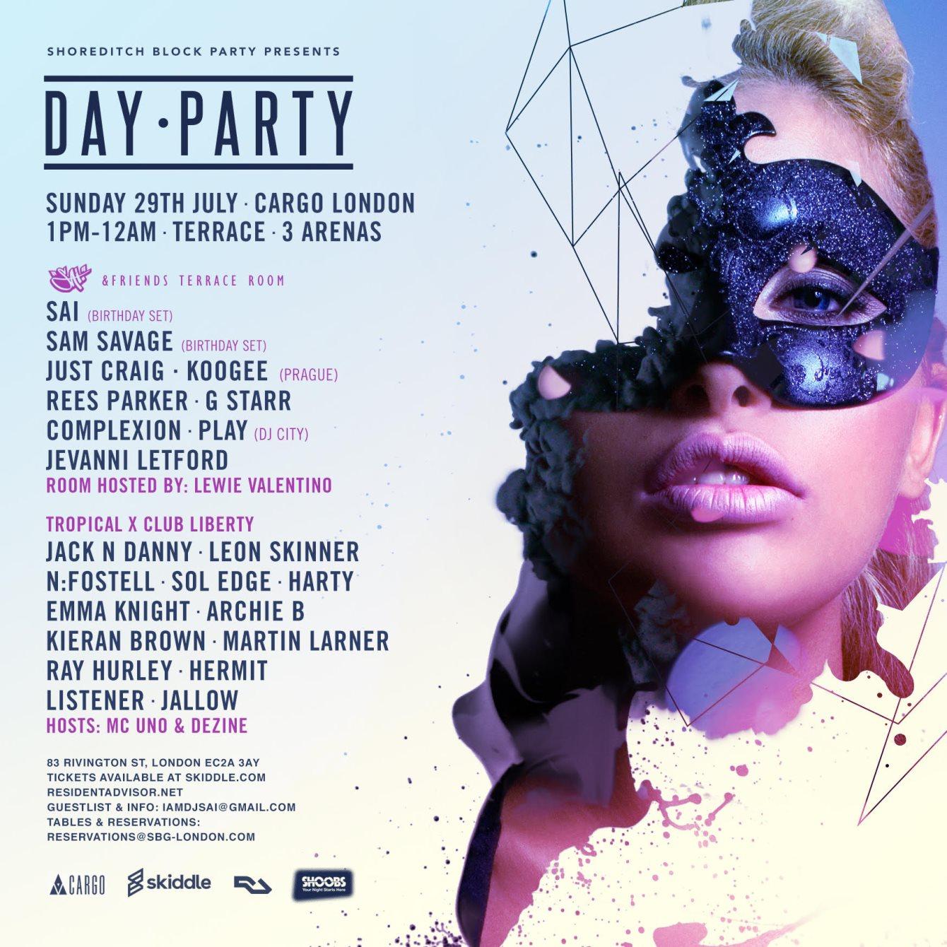 RA: Shoreditch Block Party x Tropical x Club Liberty at