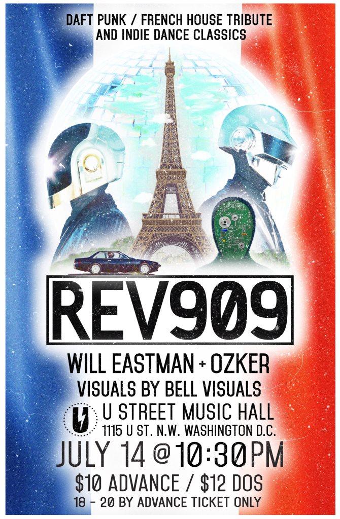 RA: Rev909: Bastille Day Edition at U Street Music Hall, Washington on