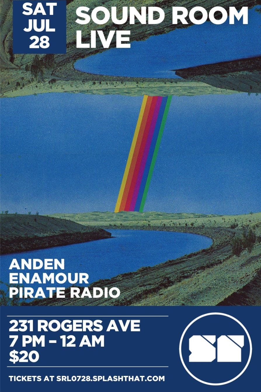 RA: Sound Room Live with Anden, Enamour, Pirate Radio at