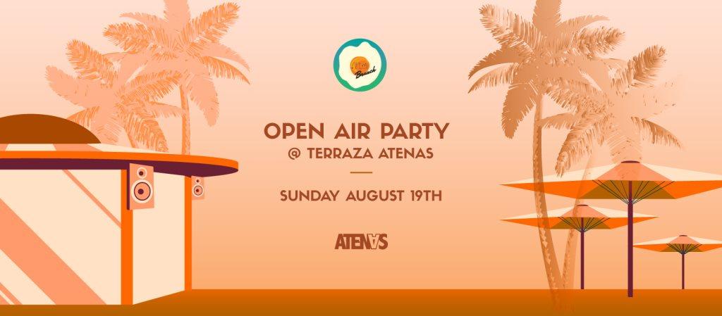 Ra After Brunch Open Air At Terraza Atenas Madrid 2018