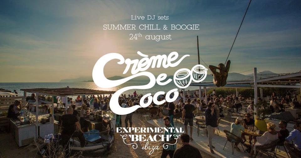 RA: Crème de Coco - EXP Beach Ibiza Las Salinas at