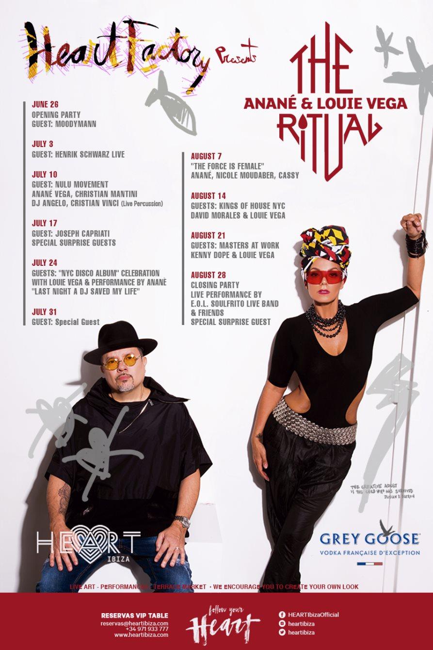 RA: The Ritual with Anane & Louie Vega Closing: E O L