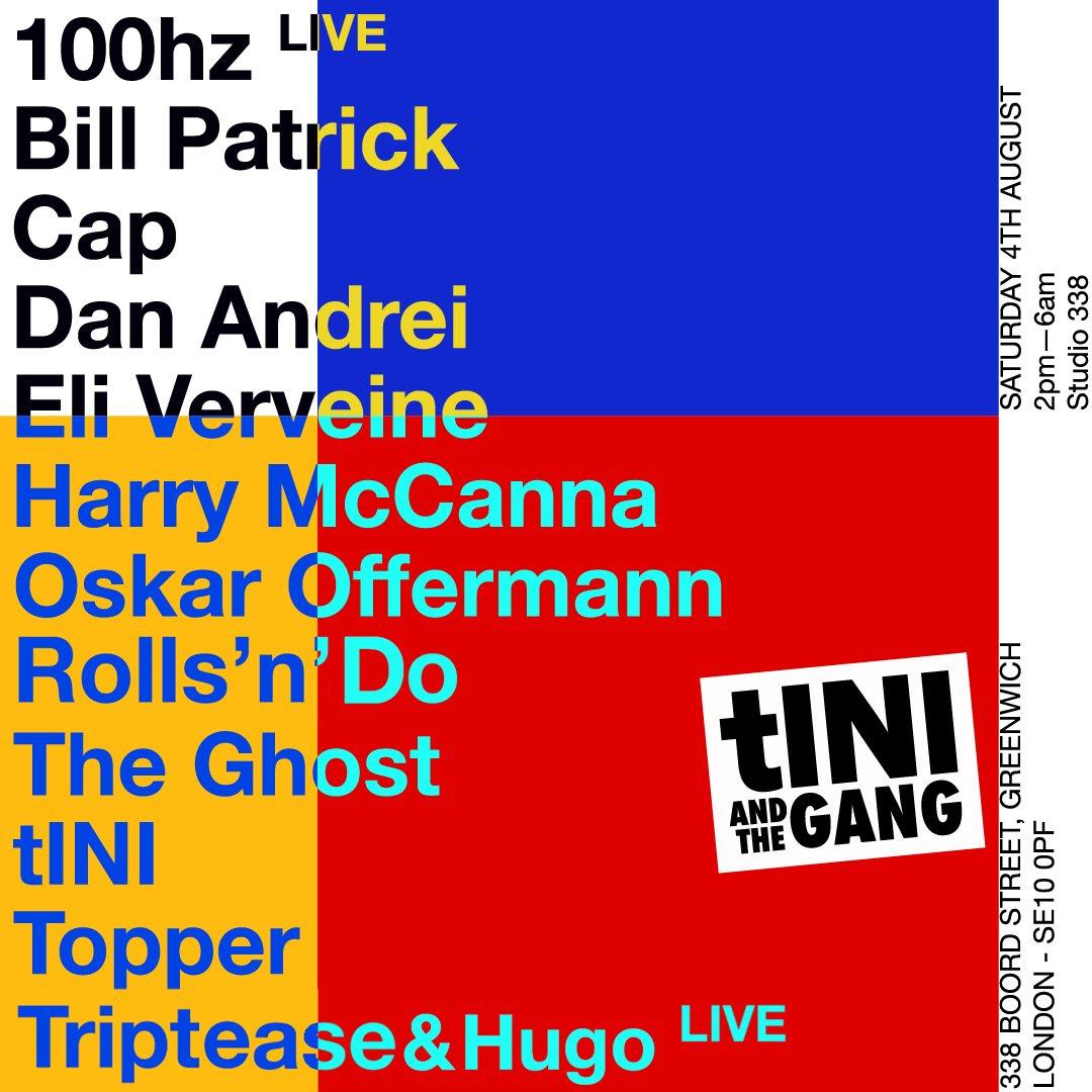 RA: tINI and The Gang - London at Studio 338, London