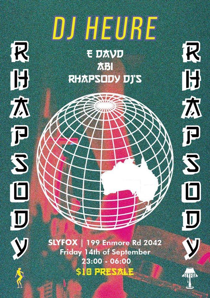 RA: Rhapsody presents DJ Heure...