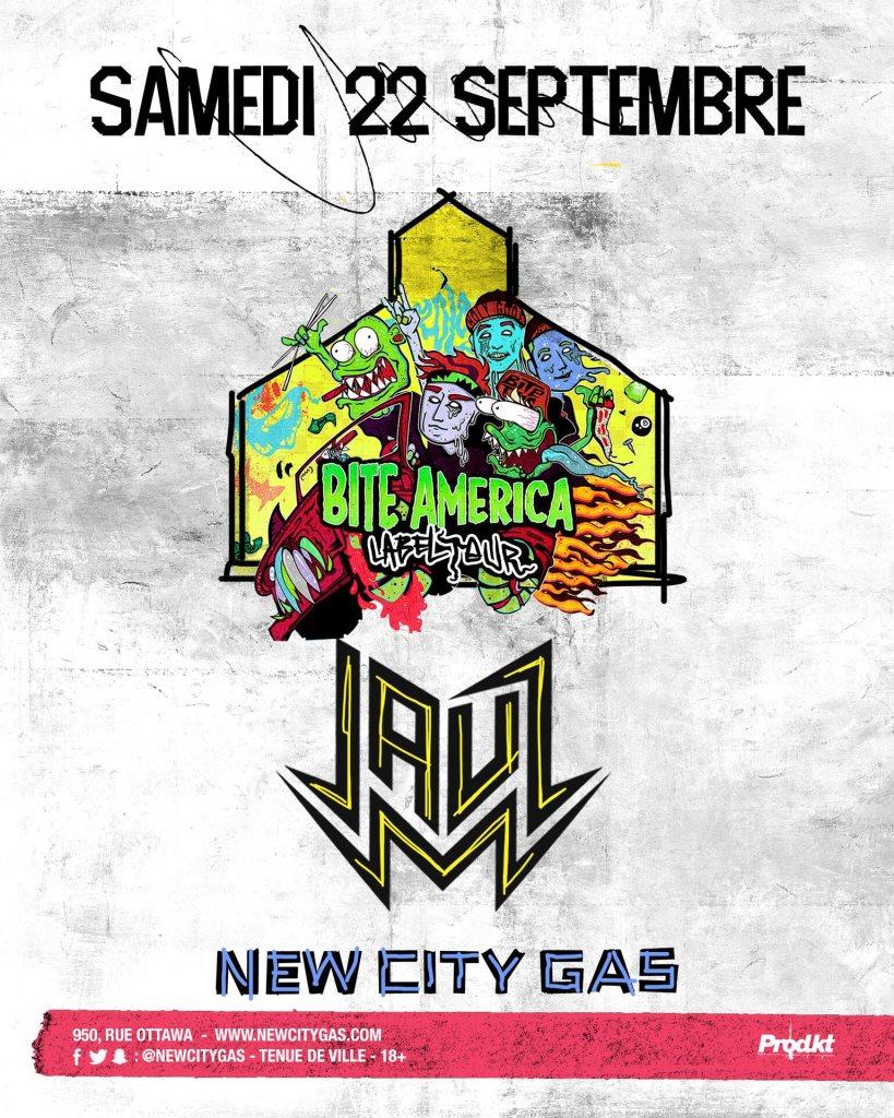RA: Jauz: Bite This! Tour at New City Gas, Montreal (2018)