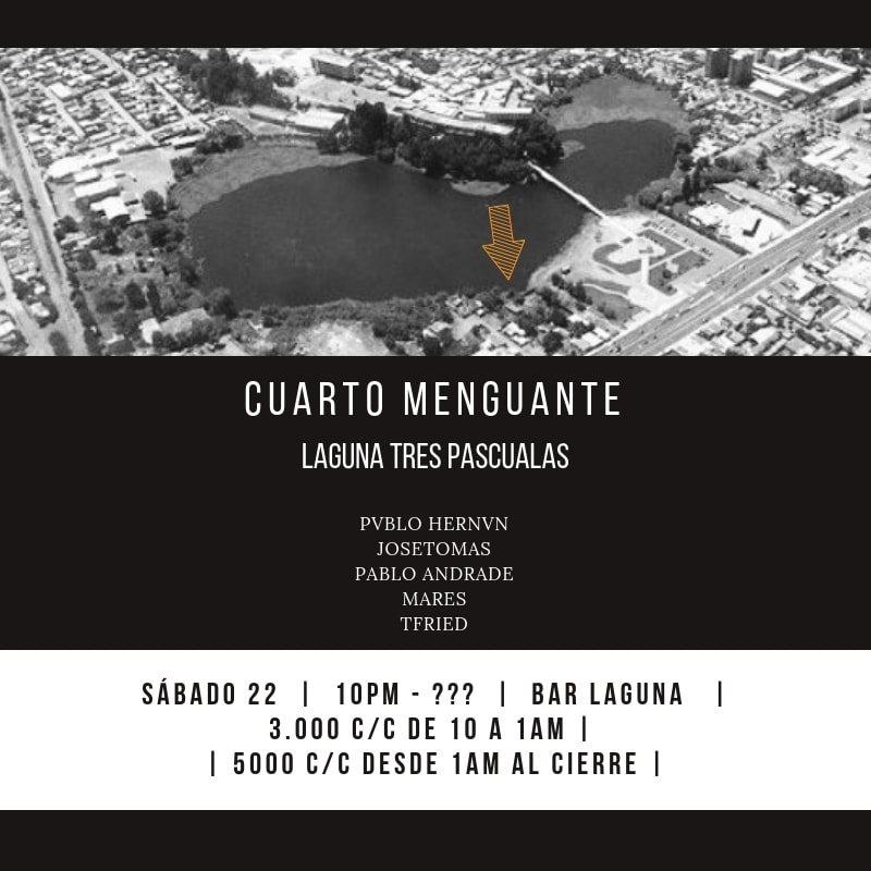 RA: Cuarto Menguante in Laguna Tres Pascualas at Bar Laguna, Chile ...