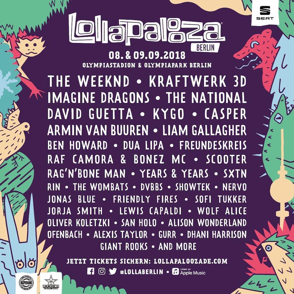 RA: Lollapalooza Berlin 2018 at Olympic Stadium, Berlin (2018)