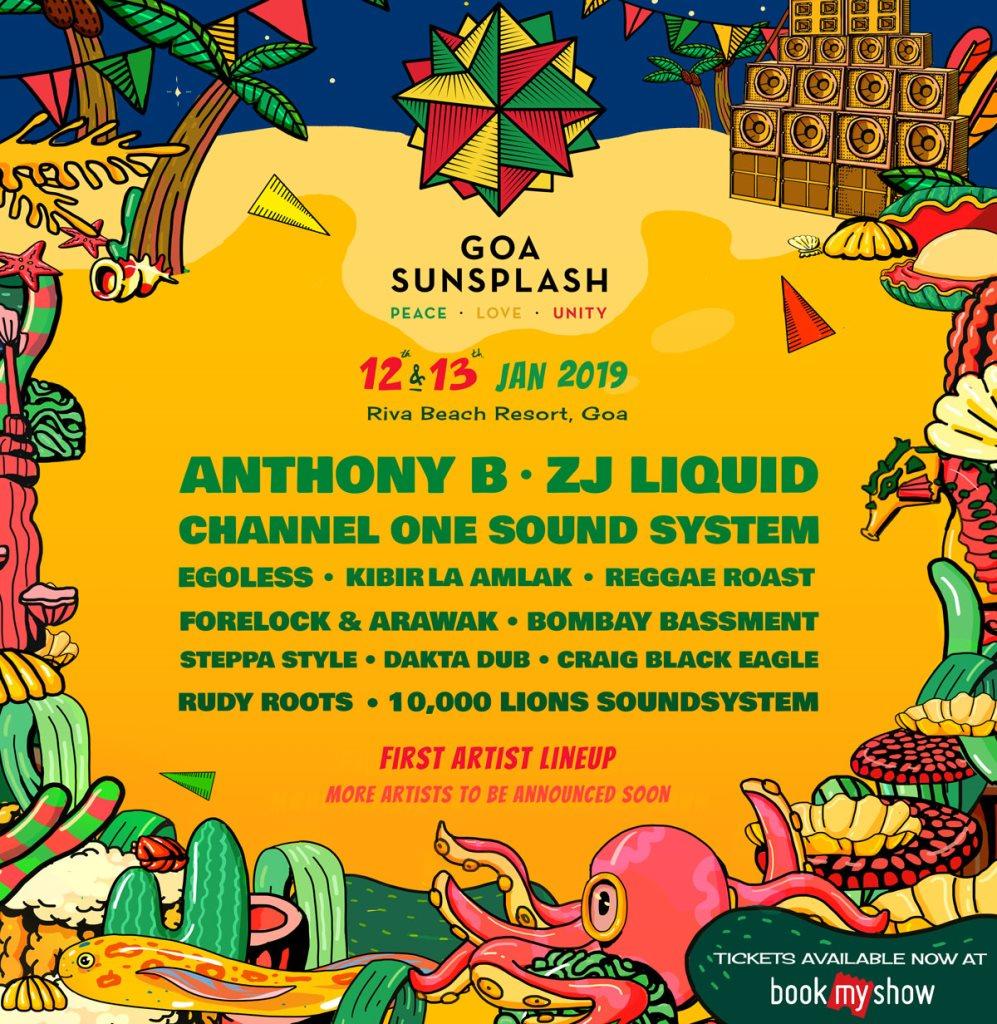 Goa Sunsplash 2019
