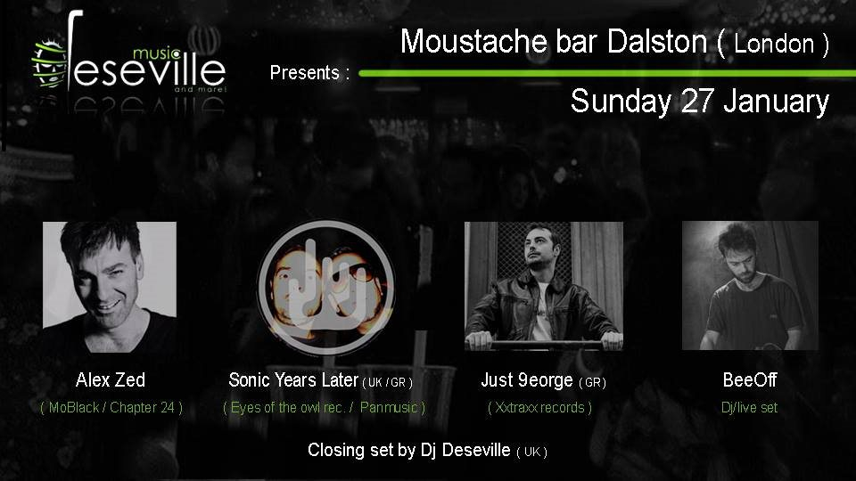 b7b38aa2659d RA  Deseville Music presents  Back to the Underground at Moustache ...