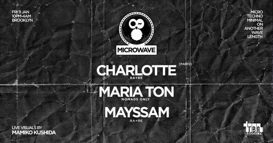 Microwave with Charlotte, Maria Tôn and Mayssam