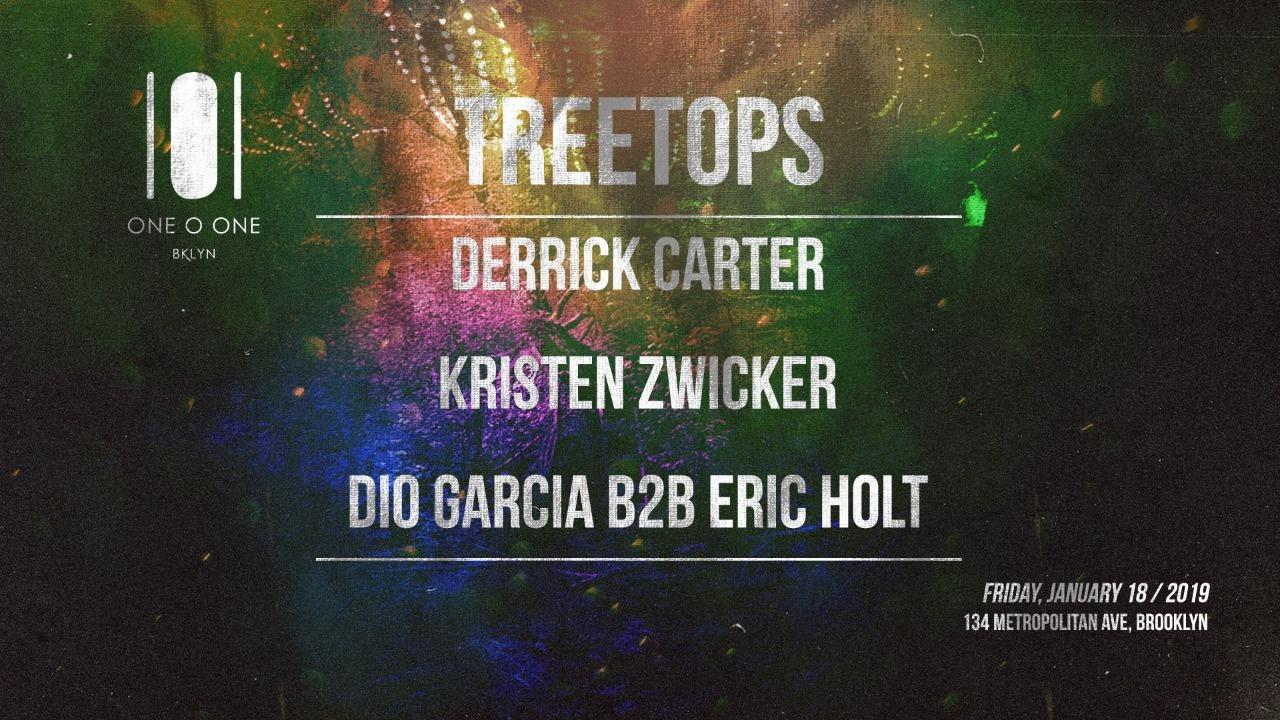 Ra Derrick Carter Treetops At 101bklyn New York