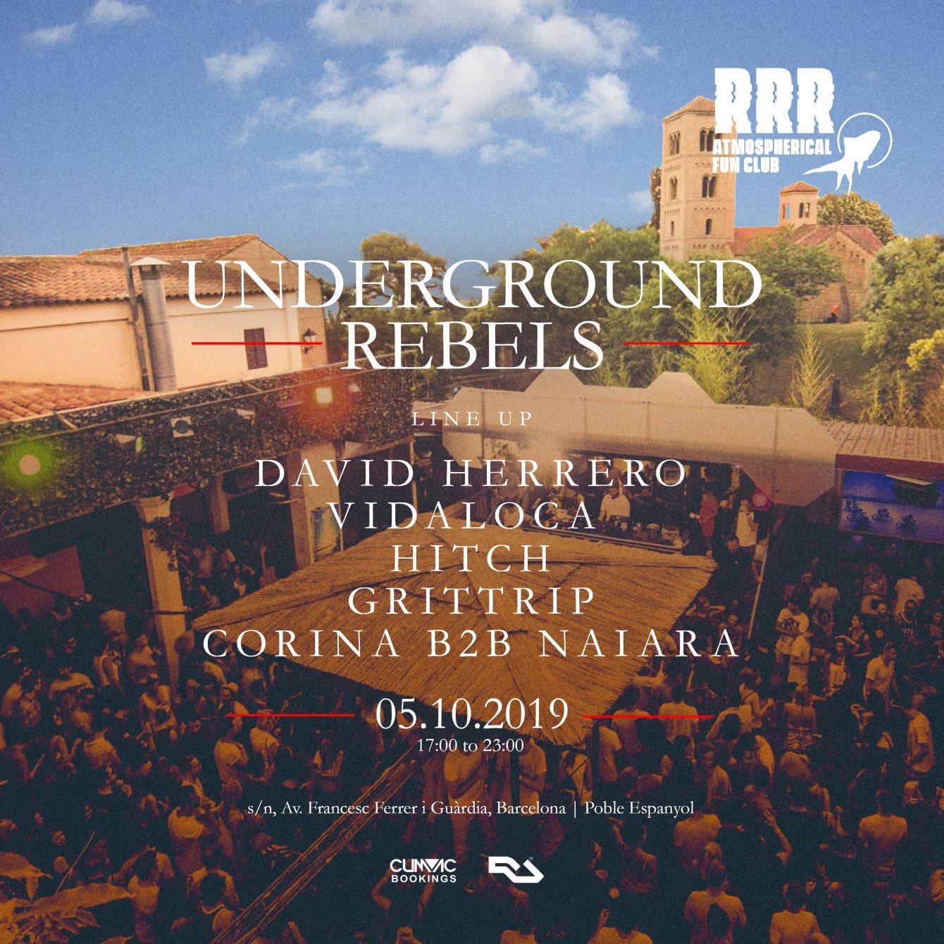 Ra Undeground Rebels Open Air Festival 12h La