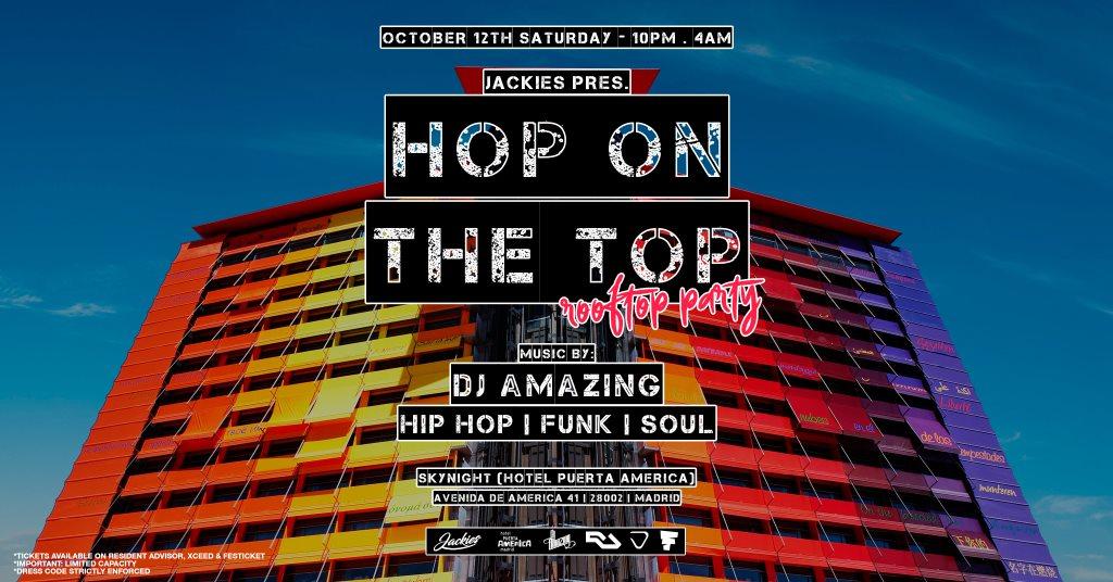 RA Tickets: Hop On The Top - Hip Hop, Funk & Soul - 360º