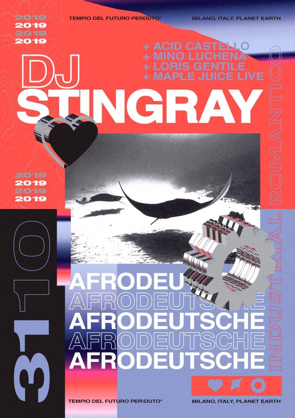 Ra Halloween Romantico Dj Stingray Afrodeutsche