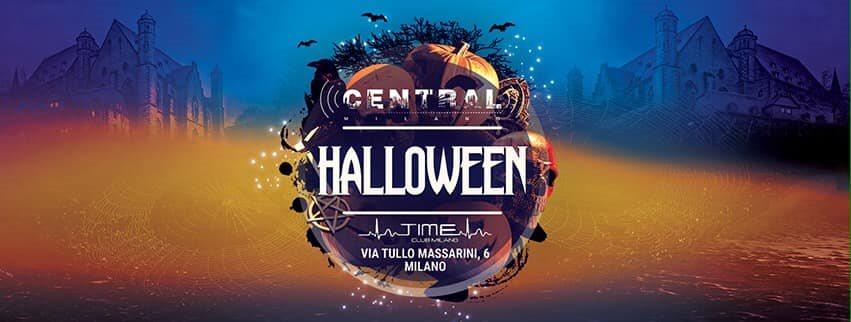 Ra C E N T R A L Milano Halloween 2019 At Time Club