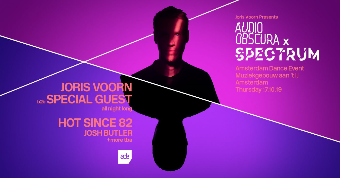 RA Tickets: Audio Obscura x Spectrum at Muziekgebouw aan 't