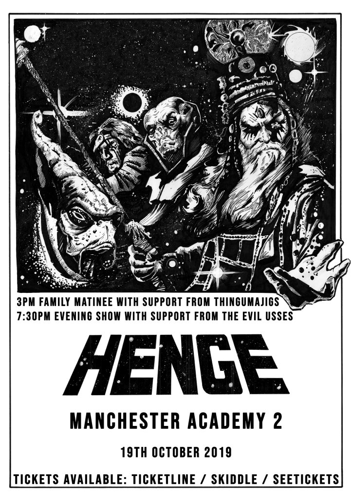 RA: HENGE & The Evil Usses at Manchester Academy 2, Manchester