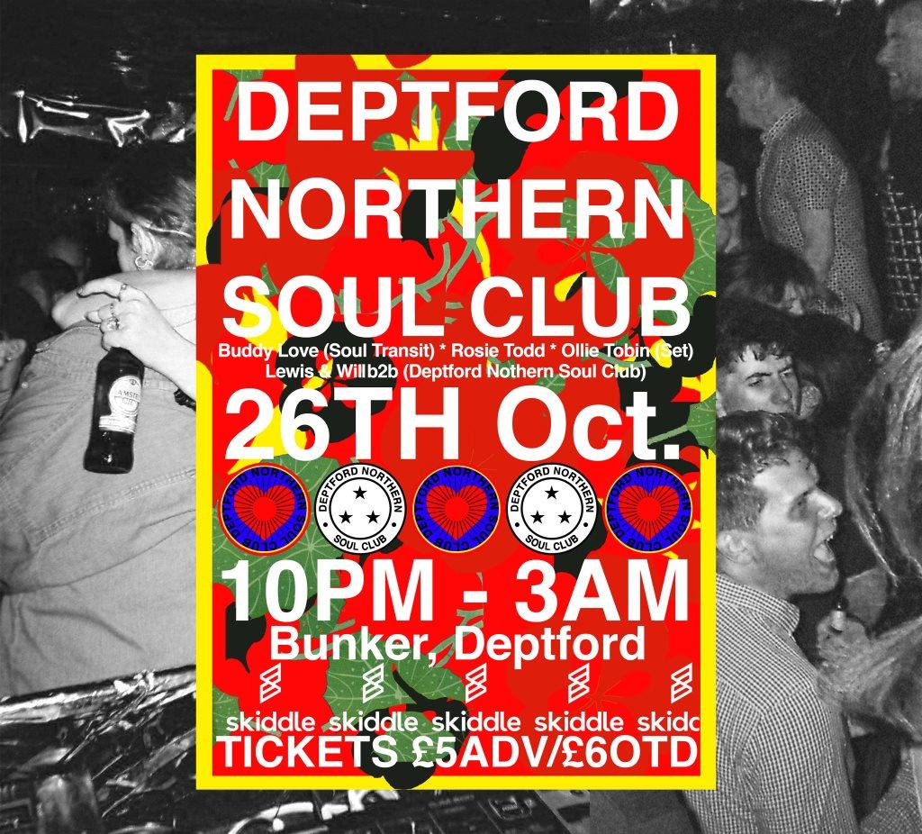 RA: Deptford Northern Soul Club at Bunker Club, London