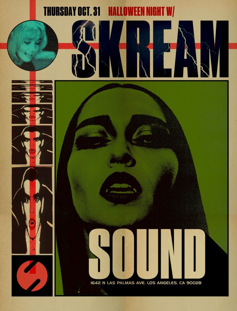 Los Angeles Halloween Events 2020.Ra Sound Presents Skream All Night Long At Sound Los Angeles