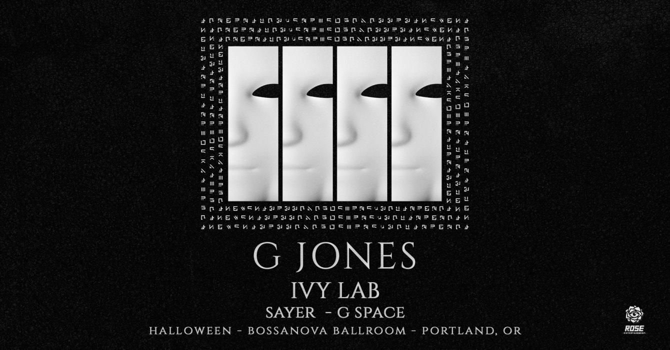Portland Halloween Events 2020.Ra Halloween With G Jones At Bossanova Ballroom Portland