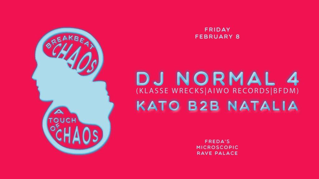 RA: Breakbeat Chaos ft DJ Normal 4, Kato b2b Natalia at